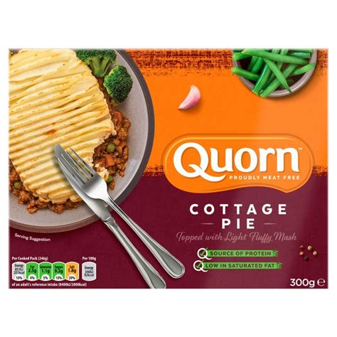 Quorn Mince Cottage Pie by Ocado Quorn Cottage Pie Frozen 300g Product Information