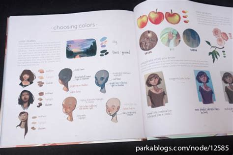 the art of loish book review the art of loish a look behind the scenes parka blogs