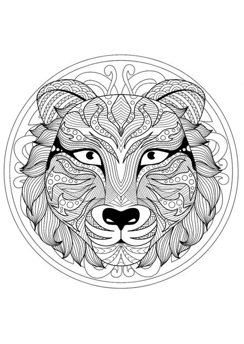 Animal Mandala Coloring Pages - Best Coloring Pages For Kids