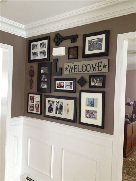 front entrance wall ideas best 25 photo collage walls ideas on pinterest heart