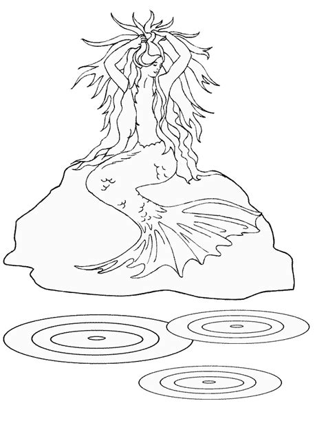 Mermaid Coloring Pages Coloring Pages To Print Colouring Pages Of Mermaids