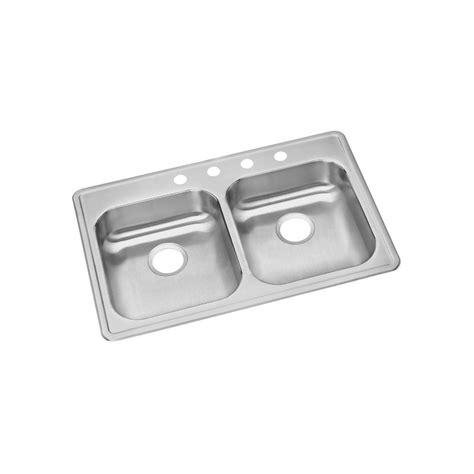 dayton bowl kitchen sink elkay install all in one drop in stainless steel 33