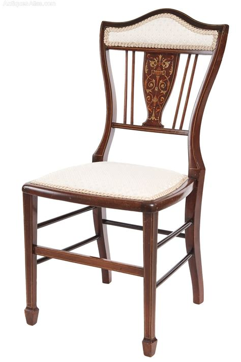 antique bedroom chair edwardian inlaid bedroom chair antiques atlas
