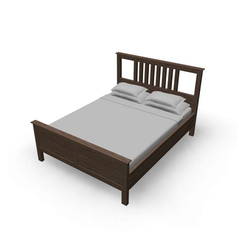 hemnes bed hemnes bed frame design and decorate your room in 3d