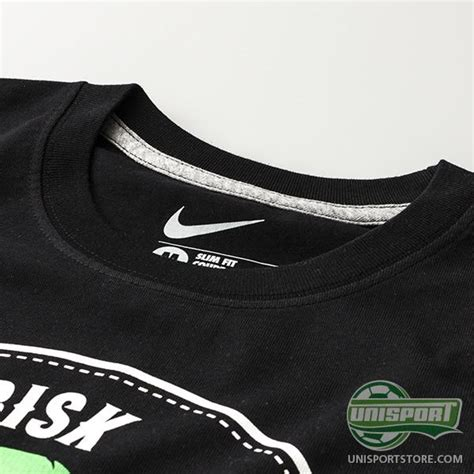 Kaos Tshirt Nike Risk Everything nike f c t shirt risk everything qt black www unisportstore