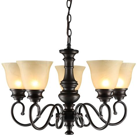 hton bay chandelier the home depot canada