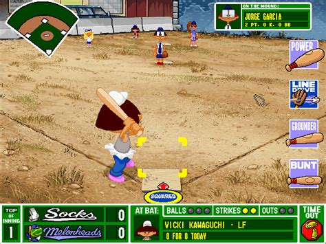 backyard baseball computer game backyard baseball cd windows game