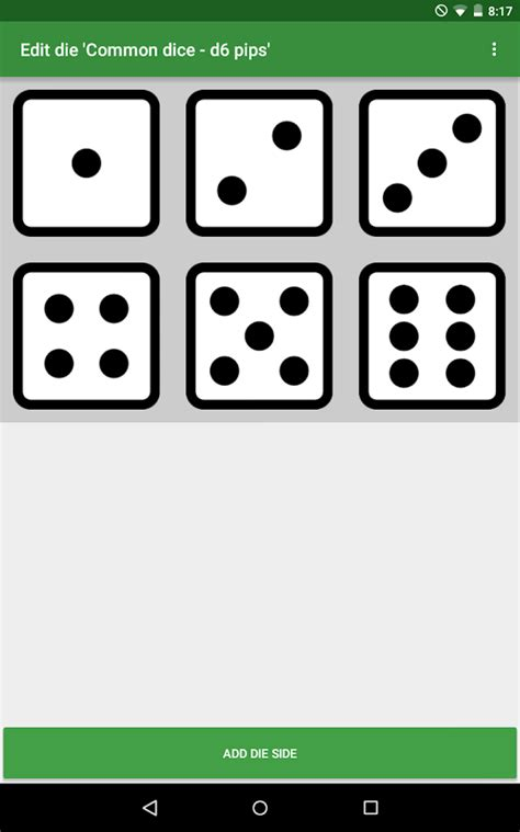 printable custom dice custom image dice android apps on google play