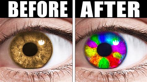 how to make your change color trick to change your eye color it actually works