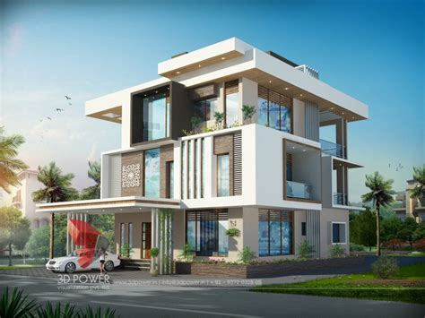 Attractive Small Bunglow #5: 3d%20bungalow%20rendering%20animation.jpg