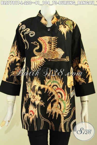 Batik Bangau Tulis batik blus kwalitas premium pakaian batik jawa tengah