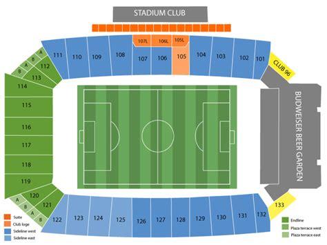 Toyota Stadium Seating Chart Toyota Stadium Formerly Fc Dallas Stadium Seating Chart