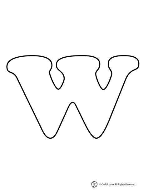 printable bubble letters lowercase lowercase bubble letter w woo jr kids activities