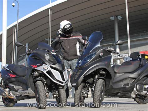 piaggio mp3 400 lt sport vs gilera fuoco 500 2011