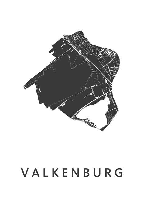 valkenburg mappa valkenburg zh white city map