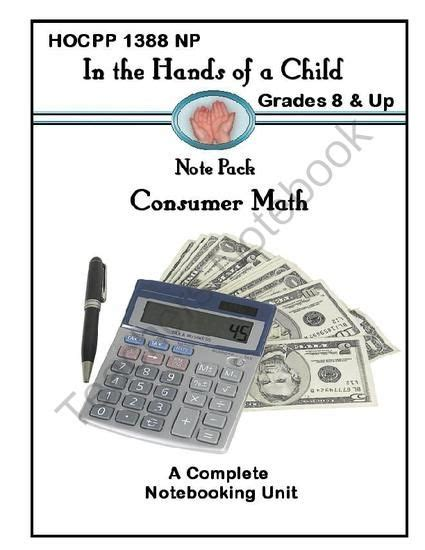 Consumer Math Word Problems Worksheet by Consumer Math Worksheets Pdf Challenging Math Word