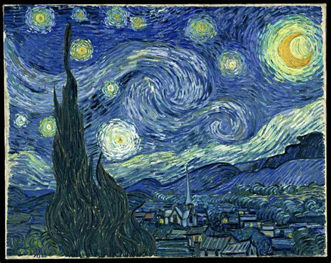 Can A Blind Person See Their Dreams Reimagining The Starry Night Bluejay S Way