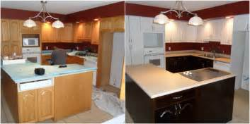 Change Color Of Kitchen Cabinets Photos For N Hance Yelp