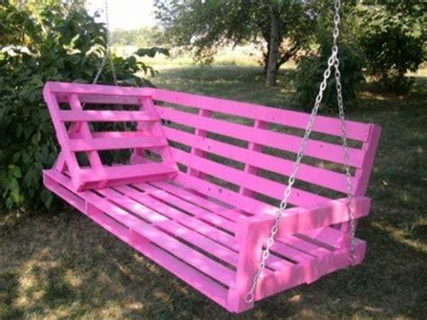 pallet bench swing breathtaking pallet swing projects wood pallet ideas