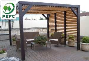 carrefour meubles de jardin pergolas