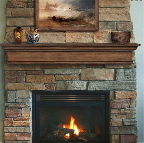 pearl mantel pine fireplace mantel or tv shelf