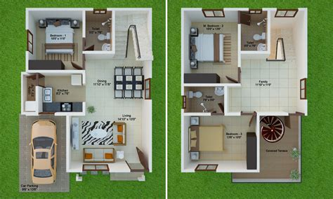 home design 40 40 30 40 east facing villa floor plan villas in sarjapur