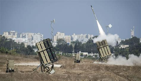 iron dom iron dome system deployed after barrage of rockets from gaza fears of sheikh omar hadid