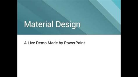 microsoft powerpoint design templates powerpoint tries to do material design