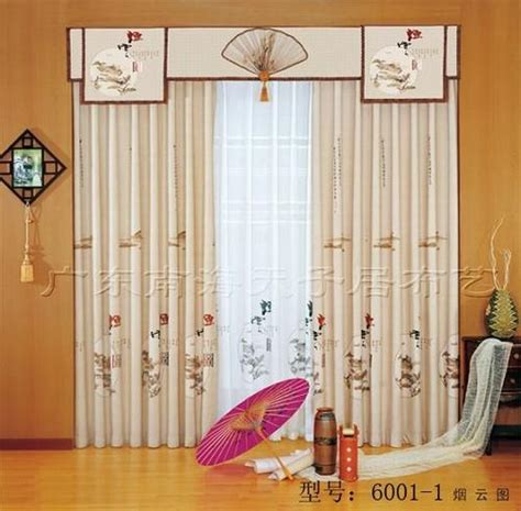 asian inspired curtains chinese traditional style curtain fabric in foshan