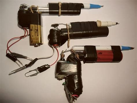 how to make tattoo gun 12 best prison guns images on