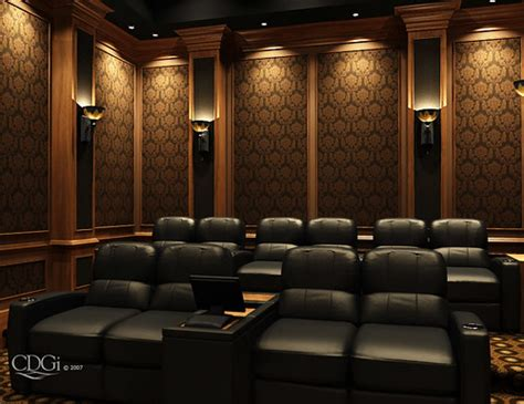 westminster theater design home theater interior