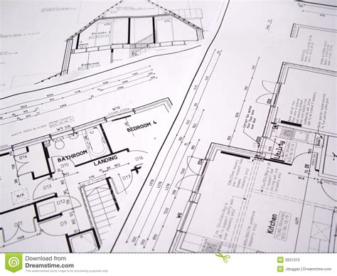 free architectural plans architectural plans stock photos image 2631313