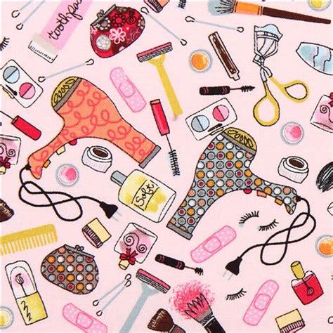 make printable fabric pink make up girl fabric timeless treasures dress up diva