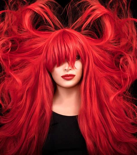 red hair color products   india
