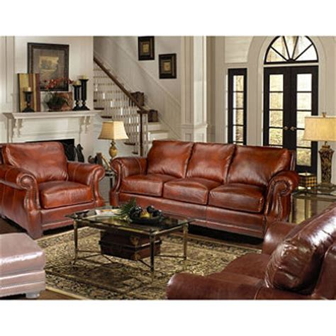 Vintage Living Room Sets Bristol Vintage Leather Craftsman Living Room Set Sam S Club