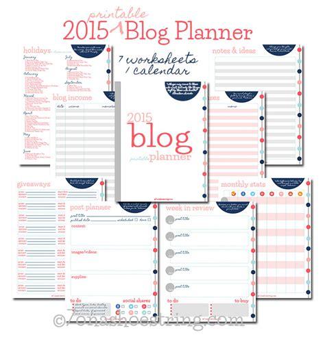 blog planner printable free 2015 free printable 2015 blog planner