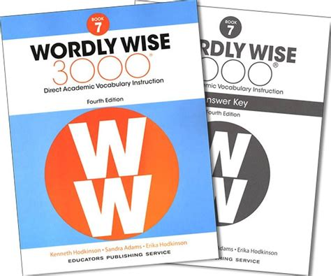 Wordly Wise 3000 Book 7 Amp Answer Key