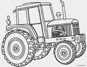 tractor template to print deere tractor coloring pages coloring pages