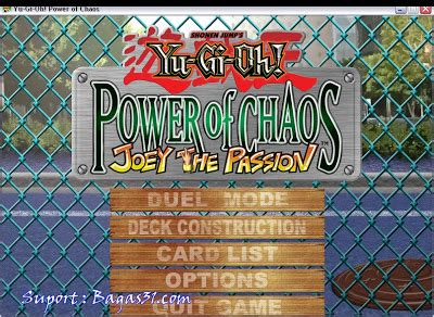 bagas31 yugioh yu gi oh power of chaos joey the passion bagas31 com