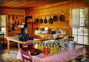 Old Country Kitchen by The Old Country Kitchen Photograph By Kathy Baccari