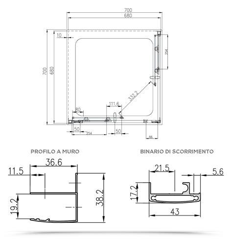 piatto doccia angolare 70x70 box doccia 70x70 cabina angolare in cristallo stato