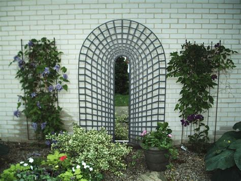 beautiful garden wall mirrors 17 17 best images about trompe l oeil trellis on