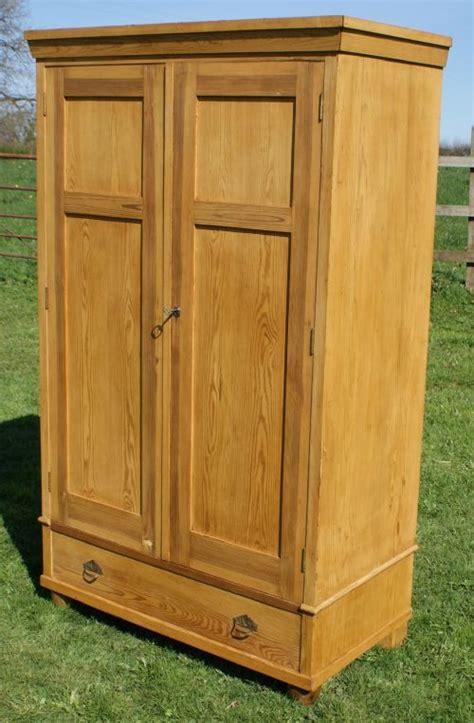 pine armoire wardrobe a very good antique german solid pine armoire wardrobe 274665 sellingantiques co uk