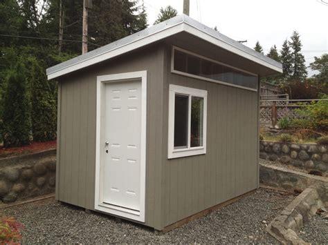 north vancouver contemporary garden shed
