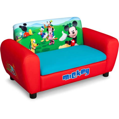 mickey mouse clubhouse sofa flip open sofas chairs and foam furniture