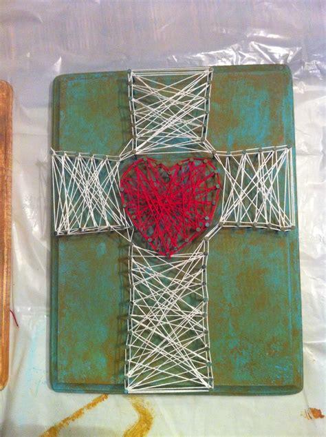 String Cross - string cross behold the cross
