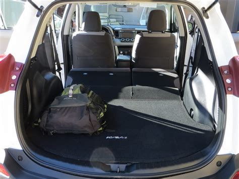 Toyota Rav4 Trunk Space Dimensions Of A 2014 Toyota Rav4 Trunk Space Autos Post