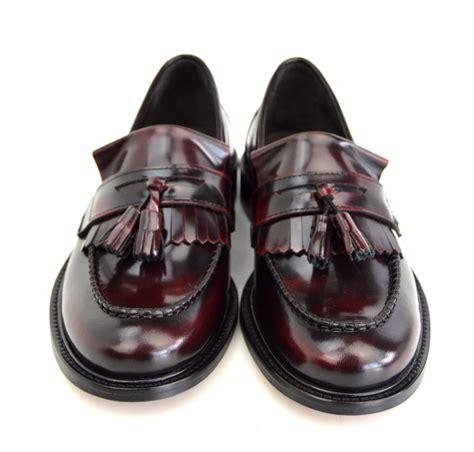 tassel loafers style princes oxblood tassel loafers mod ska skinhead