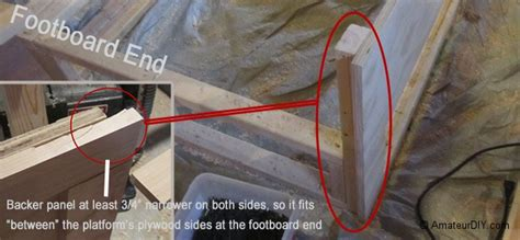 How To Attach A Footboard To A Bed Frame by The Footboard