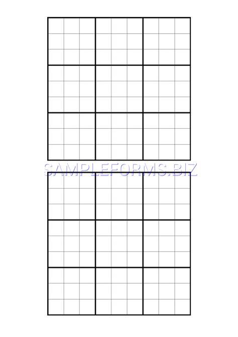 Sudoku Printable Grids
